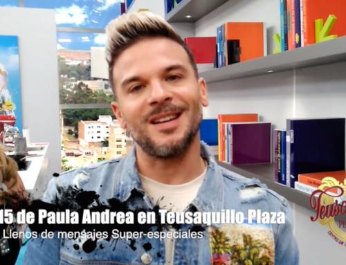 Fiesta de 15: Paula Andrea sorprendida por saludos de CARACOL