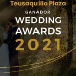 Teusaquillo Plaza ganador Wedding Awards 2021